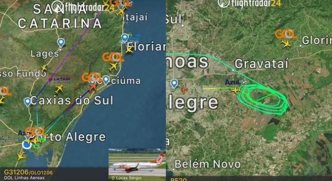 Drones causam fechamento da pista do Aeroporto de Porto Alegre por mais de 30 minutos