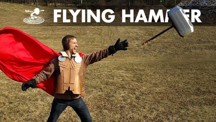"YouTubers constroem o drone ""Martelo de Thor"""