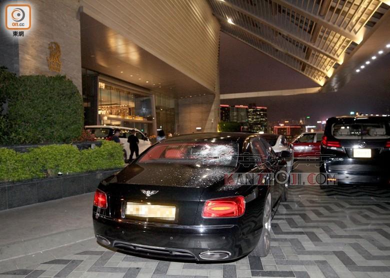 Mavic 2 destruiu para brisa de carro de luxo Bentley