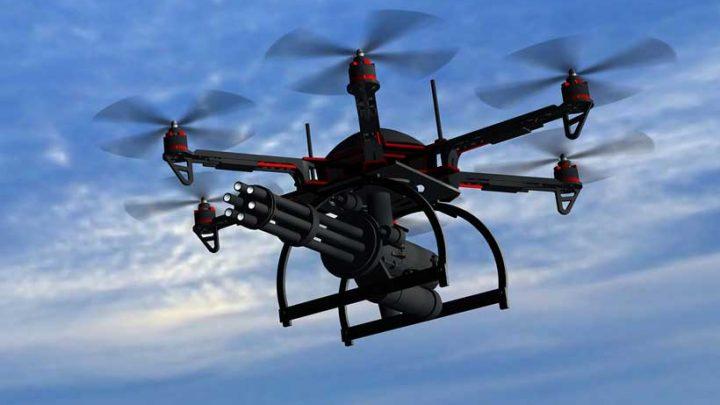 A FAA alerta sobre operar drone equipado com armas