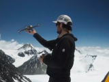 Subindo o drone no Everest (vídeo)