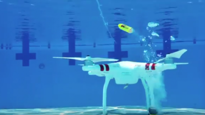 Perdeu seu drone no rio? Seus problemas (ou parte deles) acabaram :)